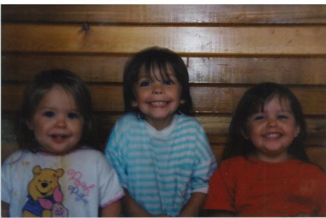 1998 - Kenneth, Kelsey, & Jennifer Drake