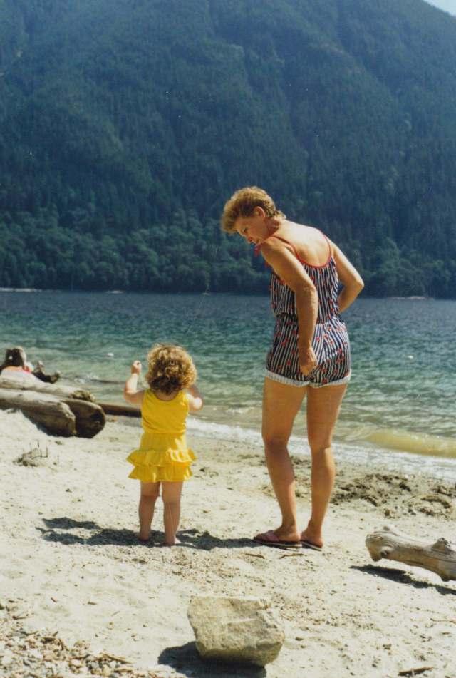 Baby Amy & Nana
